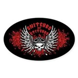 Snitches Get Stitches Decal