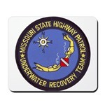 Missouri Highway Patrol Dive Mousepad