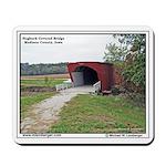 Hogback Covered Bridge, Iowa, Mousepad