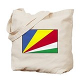 Flag of the Seychelles 1 Tote Bag