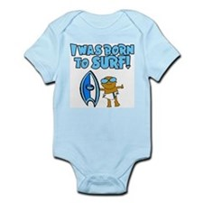 Born to surf Ethan Infant Creeper