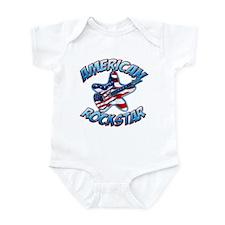 American Rockstar Infant Bodysuit