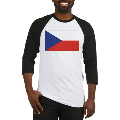 Czech Republic / Czech Flag Baseball Jersey