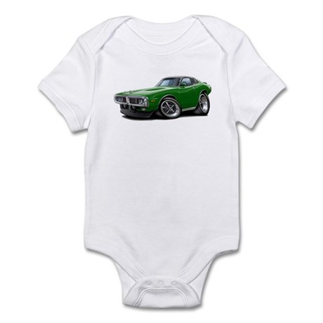 Charger Green Opera Top Infant Bodysuit