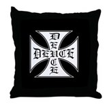 Deuce Deuce Throw Pillow