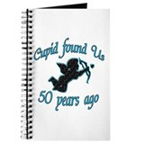 Cute 50th wedding anniversary Journal