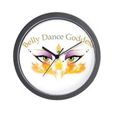 Belly Dance Shimmy Chic Wall Clock
