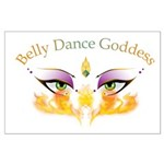Belly Dance Shimmy Chic Large Poster