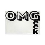 Oh My Geek Rectangle Magnet (100 pack)