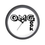 Oh My Geek Wall Clock