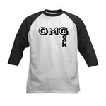 Oh My Geek Kids Baseball Jersey