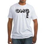 Oh My Geek Fitted T-Shirt