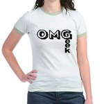 Oh My Geek Jr. Ringer T-Shirt