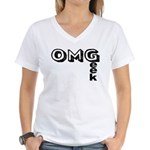 Oh My Geek Women's V-Neck T-Shirt