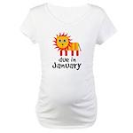 Lion January Maternity Maternity T-Shirt