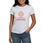 Baby Coming In January Women's T-Shirt