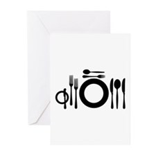 Cutlery Greeting Cards (Pk of 10)