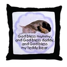 Fawn Doberman puppy Throw Pillow