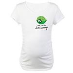 Shy Turtle January Maternity T-Shirt