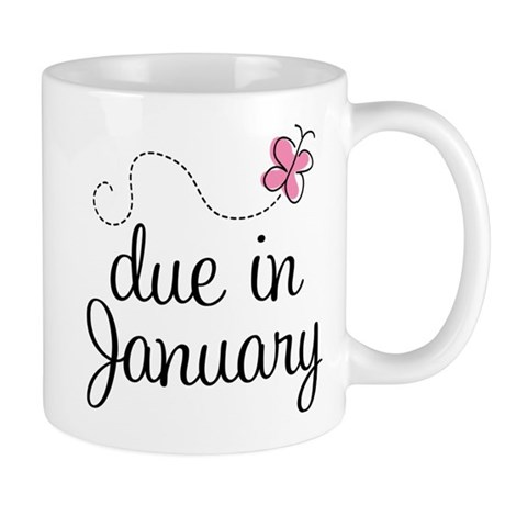 Due In January Mug