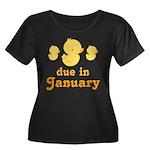 Baby Duck January Maternity Date Women's Plus Size