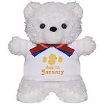 Baby Duck January Maternity Date Teddy Bear