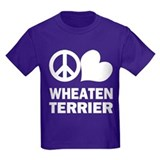 Peace Love Wheaten Terrier T