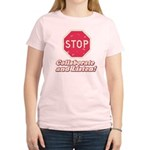 STOP! Women's Light T-Shirt