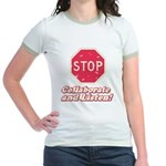 STOP! Jr. Ringer T-Shirt
