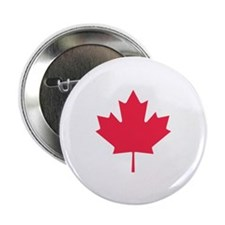 """Maple leaf 2.25"""" Button (100 pack)"""