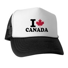 I love Canada Trucker Hat