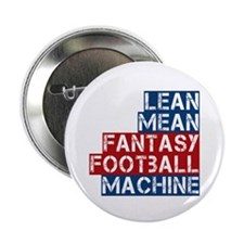 "Fantasy Football Machine 2.25"" Button (100 pack)"