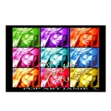 Pop Art Janie Postcards (Package of 8)