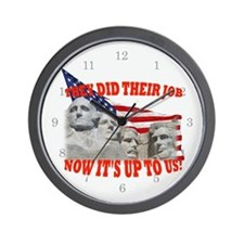Our Turn Now! Wall Clock