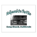 Hollywood On The Pike Small Poster