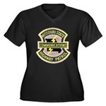 Missouri Highway Patrol Commu Women's Plus Size V-