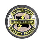 Missouri Highway Patrol Commu Wall Clock