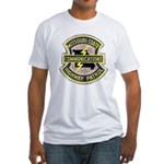Missouri Highway Patrol Commu Fitted T-Shirt