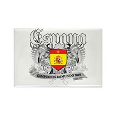 Spain world cup champions Rectangle Magnet (10 pac