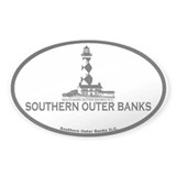 Southern Outer Banks - Map Design Decal