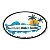 Southern Outer Banks - Surf Design Decal