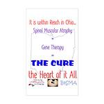 Cure in Ohio Sticker (Rectangle)