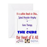 Cure in Ohio Greeting Card