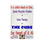 Cure in Ohio Rectangle Magnet