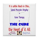 Cure in Ohio Tile Coaster