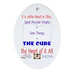 Cure in Ohio Ornament (Oval)