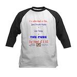 Cure in Ohio Kids Baseball Jersey