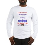 Cure in Ohio Long Sleeve T-Shirt