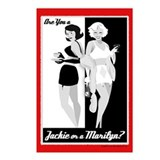 Jackie or Marilyn Postcards (Package of 8)