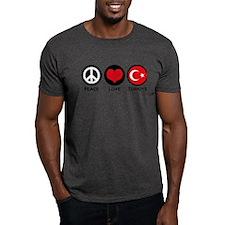 Peace Love Turkiye T-Shirt